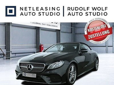 gebraucht Mercedes E300 Cabrio AMG+Memory+DAB+Kam+MagicVis+LED+19'