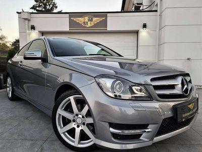 gebraucht Mercedes C180 BlueEfficiency Coupe // AMG PAKET // SEHR EDEL //