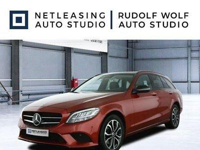 gebraucht Mercedes C220 T d Avantgarde+Night+Pano+Rollos+Facel. 19