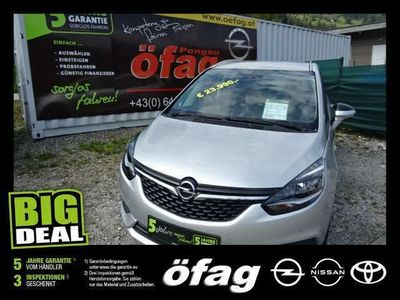 gebraucht Opel Zafira 1,6 Turbo 120 Jahre Edition Aut. Kombi / Family Van