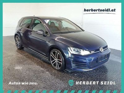 gebraucht VW Golf VII GTD 2,0 TDI DSG **NAVI, XENON**