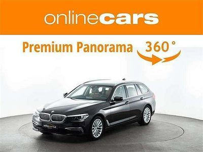 gebraucht BMW 530 5er-Reihe d xDrive Aut. LUXURY LINE LED LEDER STANDHZ ... Kombi / Family Van