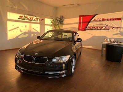 gebraucht BMW 320 Cabriolet 3er-Reihe d Cabrio Aut.*Navi*Leder-Creme*Keyless-Go* / Roadster