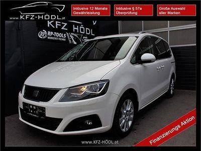 used Seat Alhambra Sport Style 2,0 TDI CR Xenon 7 Sitzer Kombi / Family Van,