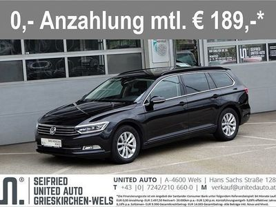 gebraucht VW Passat Variant CL 1,6 TDI*Navi*LED*Anhängerk*Ap... Kombi / Family Van,