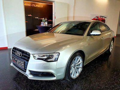 gebraucht Audi A5 Sportback 2,0 TDI S-Line, Navi, Xenon, Teilleder, Black Line Limousine
