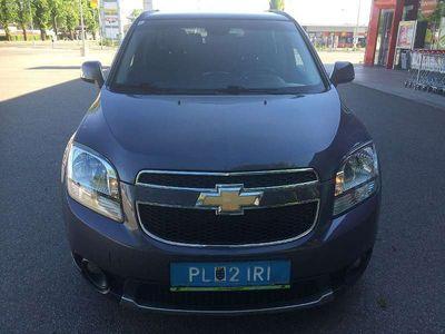 gebraucht Chevrolet Orlando 7 Sitzer 2,0 LT DPF Klima Anhängevorrichtung Kombi / Family Van