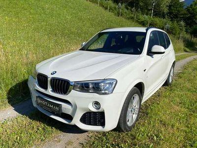 gebraucht BMW X3 xDrive 20d M Paket