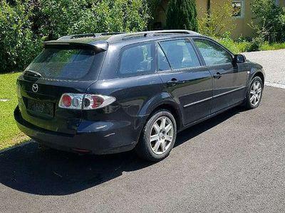 gebraucht Mazda 6 an Bastler mit 8fach Alu Kombi / Family Van