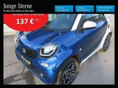 gebraucht Smart ForTwo Coupé 52kW twinamic