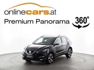 used Nissan Qashqai 1,5 TEKNA DCI LED LEDER SKY 360KAMERA A... SUV / Geländewagen,