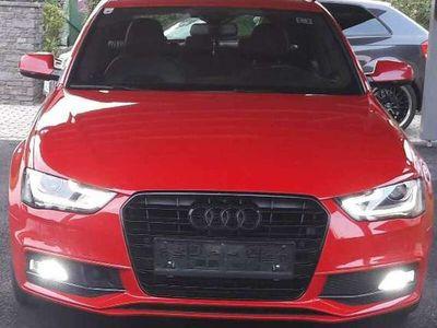 gebraucht Audi A4 3x S line Sportpaket Navi *XENON* 2.0 ACC