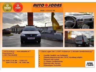 gebraucht Dacia Logan LKW Ambiance 1,6 MPI 85 **12M. Gewährleistung**