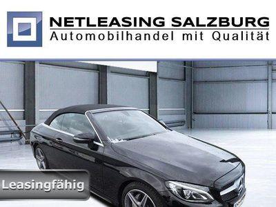 brugt Mercedes C180 Cabrio AMG Line+Navi+Airscarf+Aircap+LED Klima