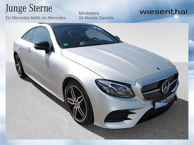 brugt Mercedes E220 4MATIC Coupé