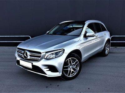 gebraucht Mercedes 250 GLC-Klasse4MATIC 9G-Tronic/2xAMG-Line/LEDER/Panorama/ SUV / Geländewagen