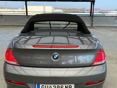 gebraucht BMW 650 Cabriolet 6er-Reihe Cabrio (E64) Österreich-Paket A