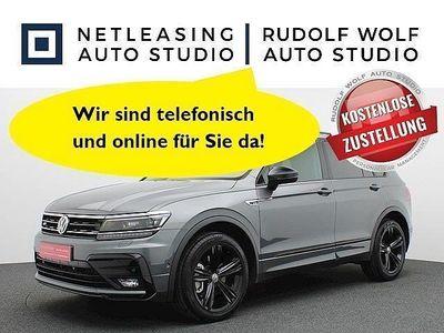 gebraucht VW Tiguan 2.0 TSI DSG 4Mo Black Style R-LINE ALU 19 Klima