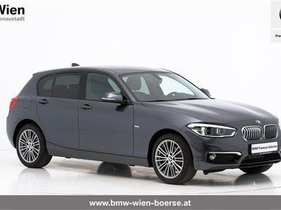 brugt BMW 118 1er-Reihe i Urban Line Limousine,
