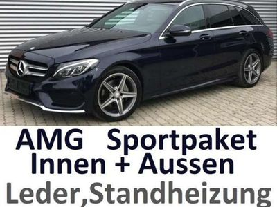 gebraucht Mercedes C220 d T AMG Line Sportpaket Autobahn-Kilometer !!