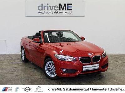 gebraucht BMW 218 d Cabrio *NEBELSCHEINW.*SITZHEIZUNG*BLUETOOTH*