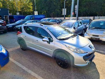 gebraucht Peugeot 207 Outdoor SW 1,6 HDi 90 FAP*PANORAMA*AHK*NEUES Pi+SERVICE Klein-/ Kompaktwagen