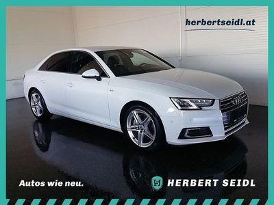 gebraucht Audi A4 2,0 TDI quattro Sport S-tronic *S-LINE / VIR... Limousine