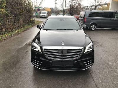 gebraucht Mercedes S400 d lang 4MATIC*STANDHEIZUNG*BURMESTER*AMG*KEY