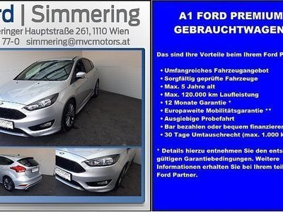 used Ford Focus 1,5 TDCi ST-Line ST-Line