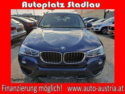 gebraucht BMW X3 xDrive 20d Österreich-Paket Aut. LEDER NAVI ... SUV / Geländewagen