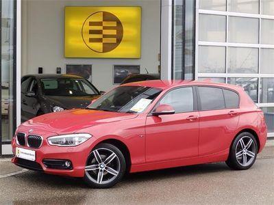 gebraucht BMW 116 1er-Reihe d Sport Line Aut. Limousine,