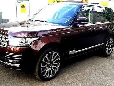 gebraucht Land Rover Range Rover Biography 3.0 TDI SUV / Geländewagen