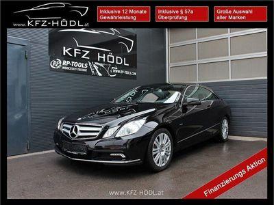gebraucht Mercedes E220 E-Klasse CoupéBlueEfficiency CDI Aut., 170 PS, 2 Türen, Automatik