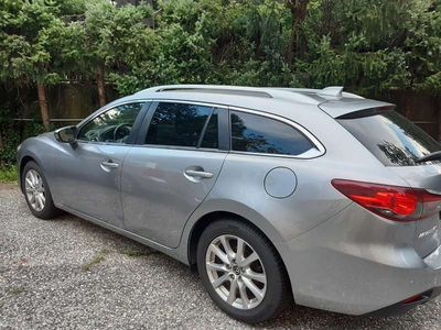 gebraucht Mazda 6 6SPC/CD150/Attraction Kombilimousine Kombi / Family Van