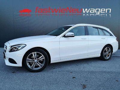 gebraucht Mercedes C220 C-KlasseT Avantgarde Plus =IntelliLight= Kombi / Family Van,