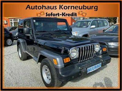 gebraucht Jeep Wrangler 4,0 Sport Hard Top*KLIMA*TEMPOMAT* SUV / Geländewagen