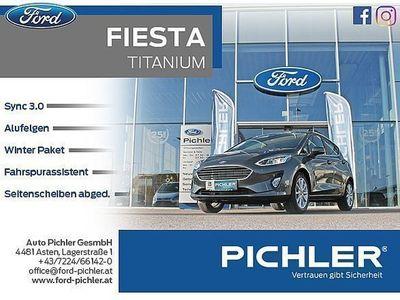 gebraucht Ford Fiesta Titanium 1,1 85PS 5türig, LEASING AKTION Limousine