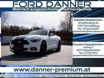 gebraucht Ford Mustang 2,3 EcoBoost Cabrio (Remus-Auspuff,Lede... Cabrio / Roadster,