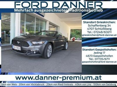 gebraucht Ford Mustang EcoBoost CABRIO Automatik (BLACK DANNER DAY AKTIO