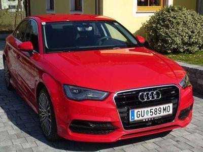 gebraucht Audi A3 S-Line, Limousine, ACC, Side-/Lane-Assist, LED-SW