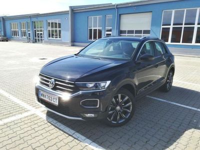 gebraucht VW T-Roc Style +Alu-WR Keyless LaneAssist SHZ Blind Spot...