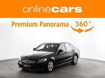 gebraucht Mercedes C220 d Avantgarde Aut. LED AHK NAVI LEDER R-KAMERA