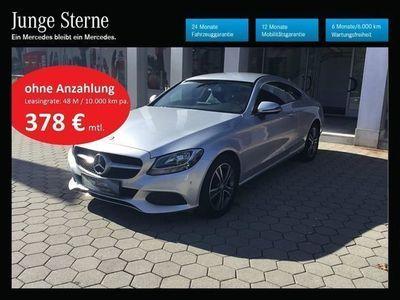 gebraucht Mercedes C220 C-Klassed Coupe 4Matic Aut. Sportwagen / Coupé,