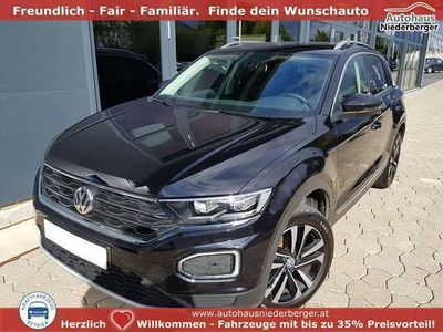 gebraucht VW T-Roc United 1,5 TSI DSG 110KW el. Heckklappe, Navi, ...
