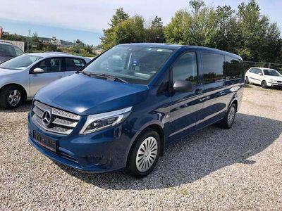 gebraucht Mercedes Vito Tourer 114 BlueTEC extralang 4x4 Aut+9 sitzer