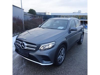 gebraucht Mercedes GLC220 d 4MATIC Aut. AMG Interieur/Exterieur LED, Navi