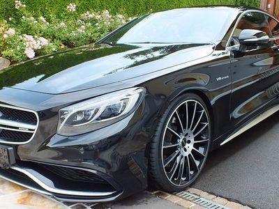 brugt Mercedes S63 AMG S-KlasseAMG 4MATIC Coupe Voll Nachtsicht Sportwagen / Coupé,