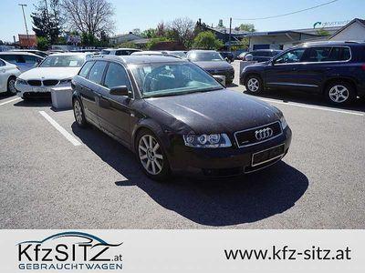 gebraucht Audi A4 Avant 1,9 TDI quattro S-Line Kombi / Family Van