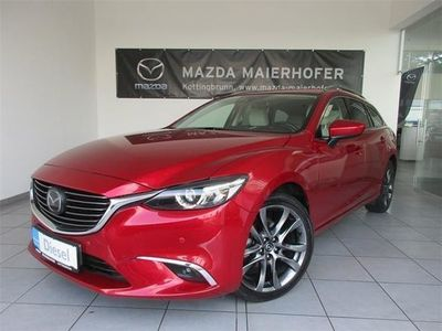 "gebraucht Mazda 6 Sport Combi CD175 Revolution Top ""Leder we"