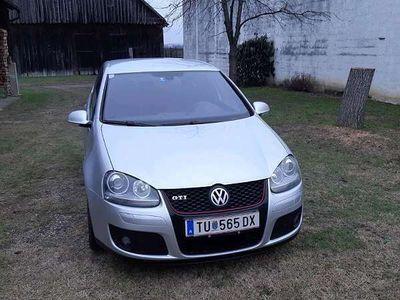 gebraucht VW Golf V GTI 2.0 Turbobenzin Klein-/ Kompaktwagen